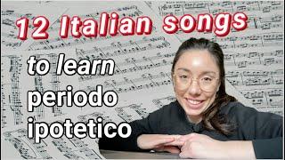12 canzoni italiane per imparare il periodo ipotetico (congiuntivo imp + condizionale pres)