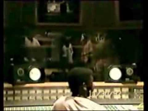 Tony Rebel / Sly Dunbar - Rare Studio Session Footage #3 -