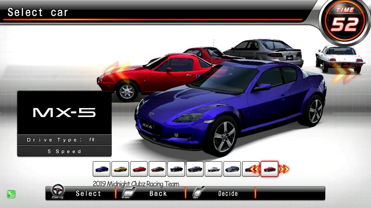 Wangan midnight maximum tune 5 secret cars
