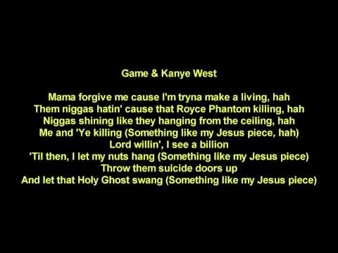 Game - Jesus Piece ft. Kanye West & Common (Explicit Lyrics)