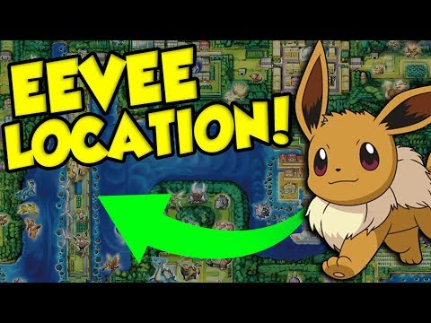 Eevee Location + New Pokemon Lets Go Gameplay THAT WILL MAKE YOU LOVE THIS GAME!