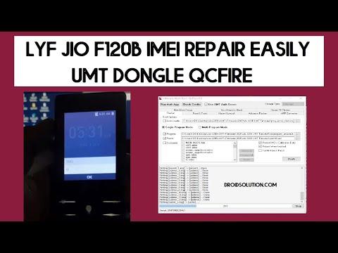 LYF Jio F120B IMEI REPAIR UMT Tool - 100% Working | Diag Enable
