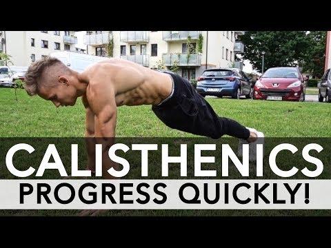 How to progress FAST in Calisthenics - 5 METHODS