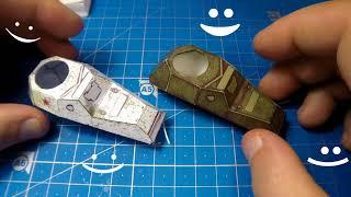 Военный Броневик из Бумаги | Бронеавтомобиль БА-64 ч.1/2