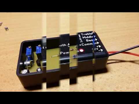 DIY mini light organ with AGC
