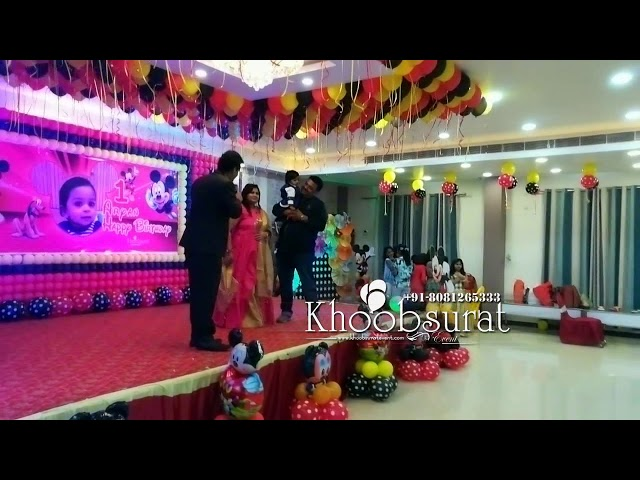 mickey mouse theme activities at leisure resort Bahraich by khoobsurart decoration 8081265333