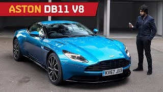 DB11 V8! Best Aston Martin GT ever?! And how AMG DNA is under the Hood!