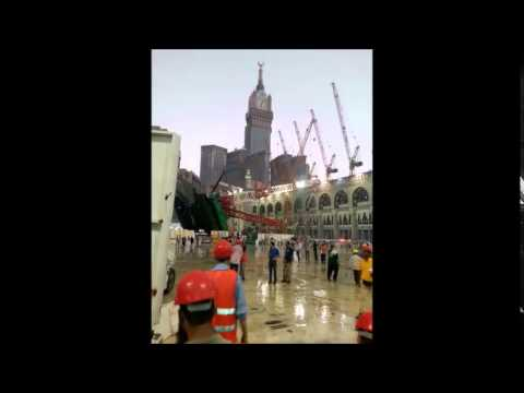 LIVE as it Happened. Crane collapsing in Makkah, Mecca. atleast 111 dead, 331 injured.