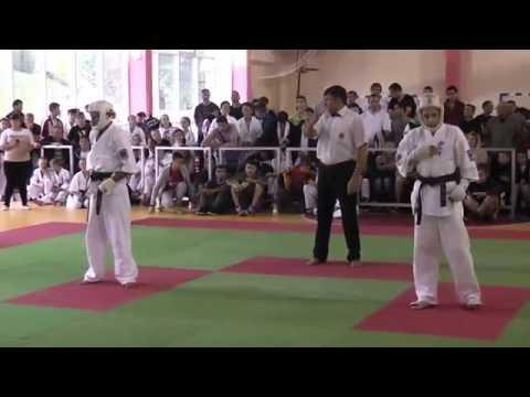 Попов Vs Бардаков финал Первенство России каратэ киокусинкай