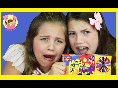 BEAN BOOZLED GAME 4TH EDITION Gross vs good food jelly belly challenge - kids taste test