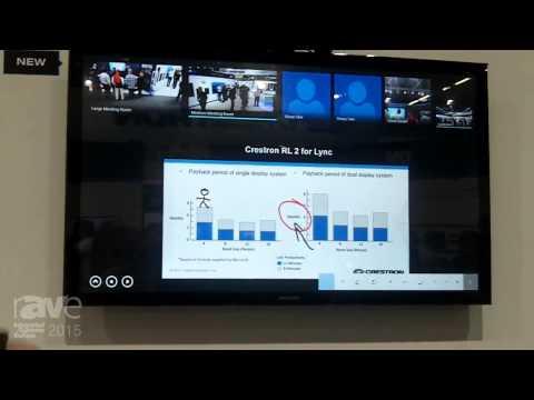 ISE 2015: Crestron Highlights RL 2 Codec for Lync Room System