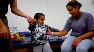 The MiracleFeet Brace for Clubfoot