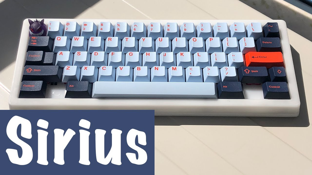 ProjectKeyboard WKL SIRIUS Build (YOK Reds with Cream Stems)