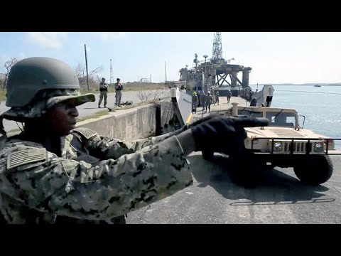High-tech Military Operations For Puerto Rico Relief