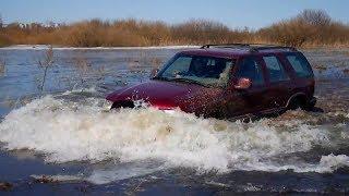Утопили Шевроле Блейзер, Нива, Патриот, Кайрон в заливных лугах Chevrolet Blazer