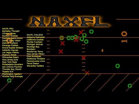 NAXFL 2016 College Week 08