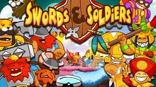 [Gameplay] Swords And Soldiers HD |  Skirmish | All 3 Races