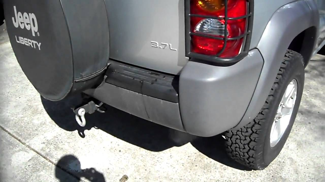 2003 Jeep Liberty 3.7L Flowmaster Super 44 Exhaust - YouTube