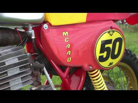 Classic Dirt Bikes 1979 440 Maico Twinshocker
