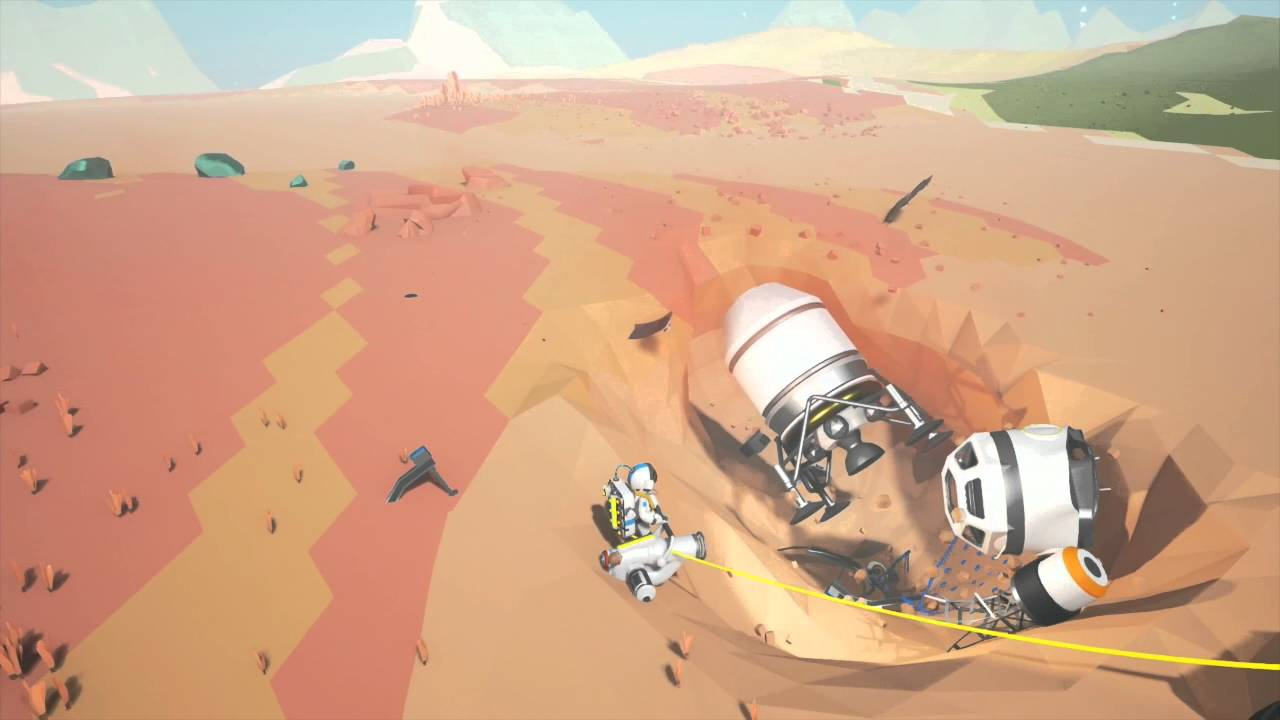 Early Fall Wallpaper Astroneer Coming To Steam Early Access Youtube