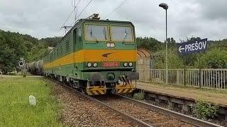 """Twin Twins - """"Dvojitá Dvojička"""" (ZSCS Cargo Electric Loco 131) - Cisternový Vlak @ Obišovce"""