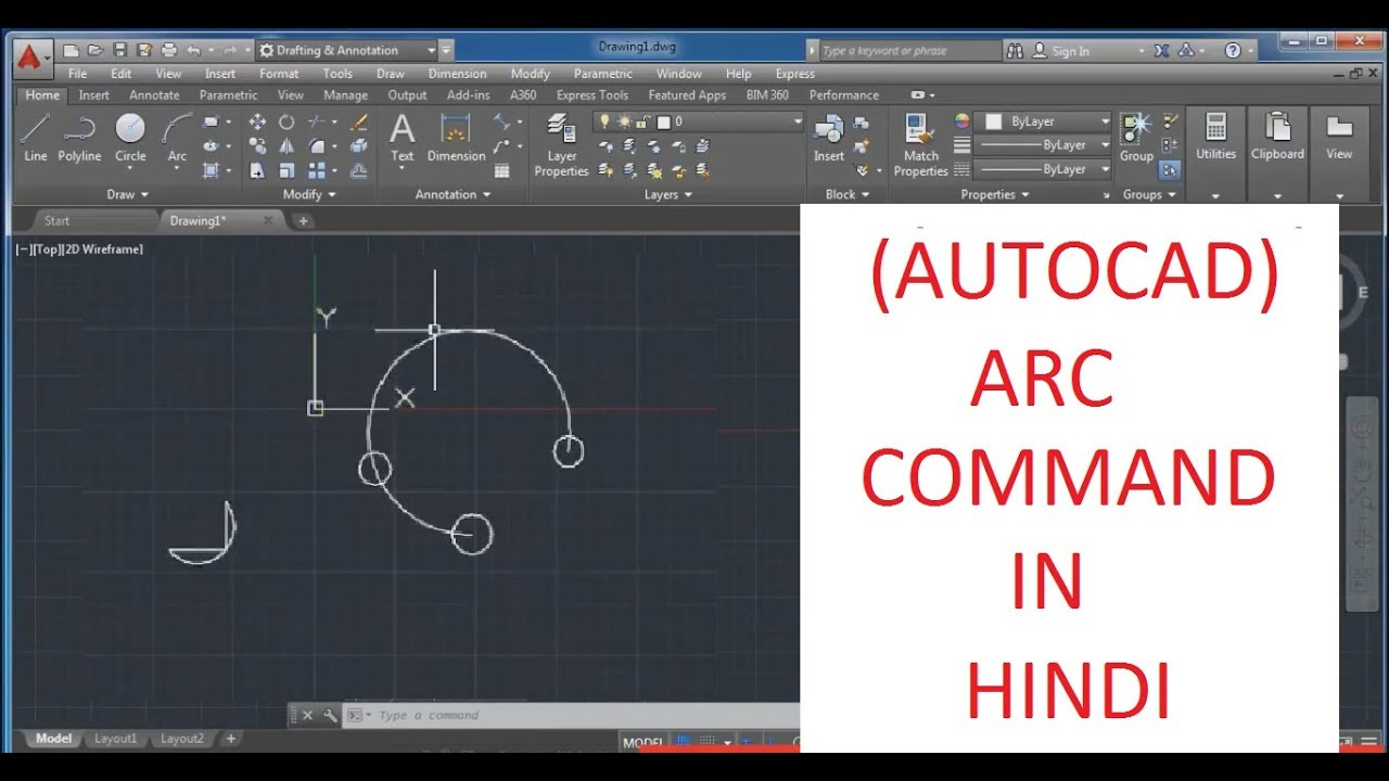 Autocad Draw Arc With Specific Length Angle Radius