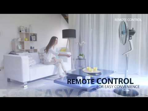 Rowenta Turbo Silence Extreme Stand Fan – Remote Control