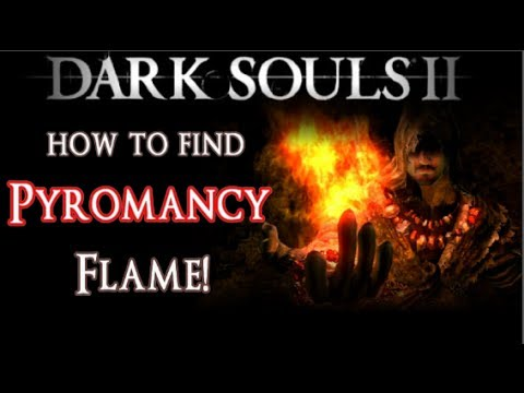 HOW TO FIND Pyromancy Flame Location in No-Man's Wharf - Dark Souls 2 Spells Guide