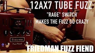 Friedman Fuzz Fiend, demo by Pete Thorn