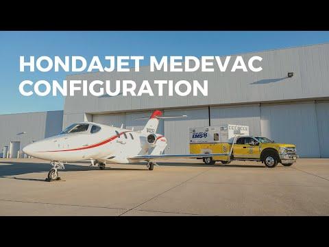 HondaJet Medevac Configuration
