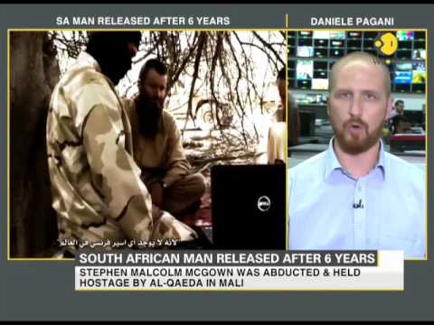 South African man captured by Al-Qaeda released after 6 years
