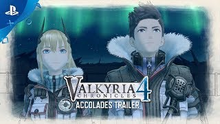 Valkyria Chronicles 4 - Accolades Trailer | PS4