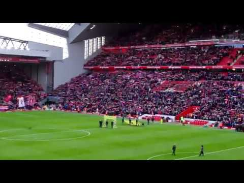 You'll never walk alone - Liverpool fans 18.11.2017 : LFC - Southampton