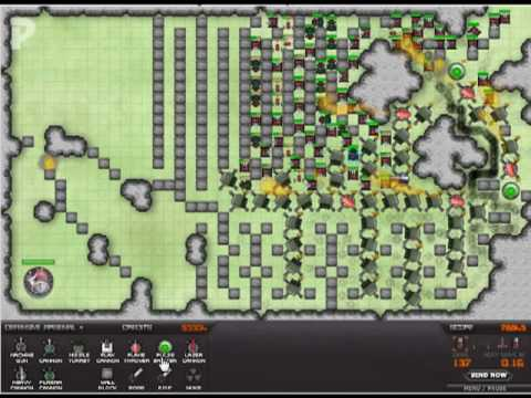 Warzone Tower Defense Strategy - ground & air - wave 1 to 165