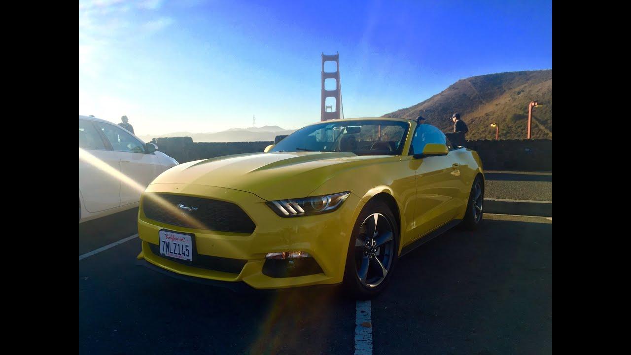 Ford Mustang Convertible Driving San Francisco Bay Area California & Ford Mustang Convertible Driving San Francisco Bay Area ... markmcfarlin.com