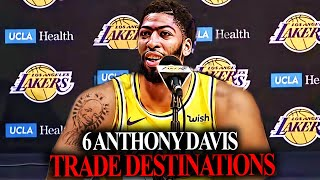 6 Anthony Davis Trade Scenarios! TRADED to The Lakers?