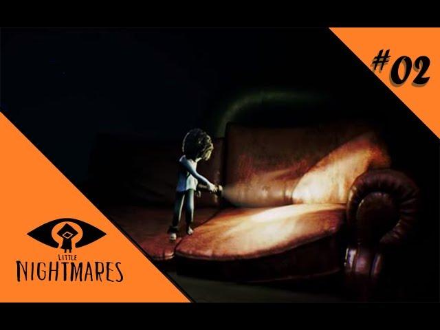 GRABSCHEFINGER AUS DER TIEFE 💀 Let's Play Little Nightmares [DLC] DIE TIEFEN #02