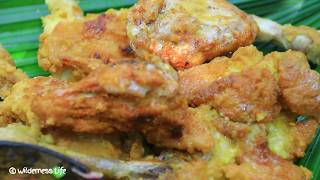 WOW! Yummy Fried Two Chicken Recipe Eating Delicious