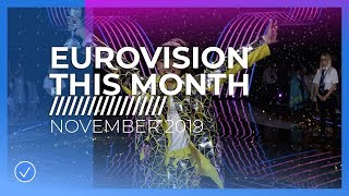 EUROVISION THIS MONTH: NOVEMBER 2019