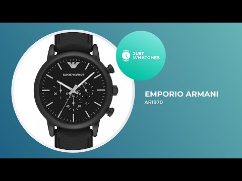 Emporio Armani AR1970 Watches For Men Prices, Features, Review 360°