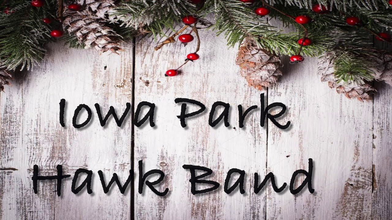 Iowa Park Winter 2020 Band Digital Concert