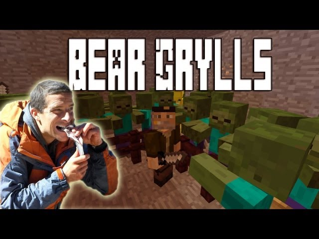 Minecraft Mod - Bear Grylls Mod | Willyrex Videos De Viajes