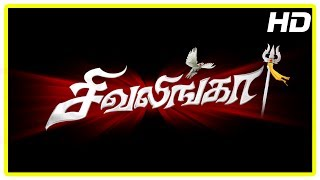 Shivalinga Tamil Movie Scenes | Title Credits | Shakthi pushed from train | Raghava