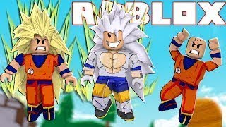 ALL the TRANSFORMATIONS of DRAGON BALL in ROBLOX-DRAGON BALL SUPER HEROES