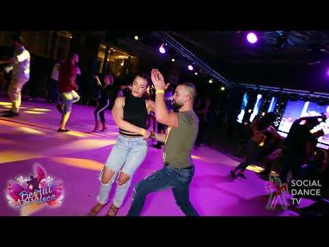 Sako Kouzoukian & Ana García - Salsa social dancing | Beirut Salsa Loca 2018