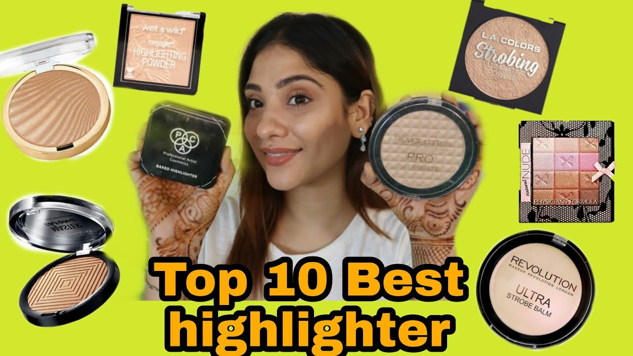 BEST 10 affordable face Highlighter || shystyles
