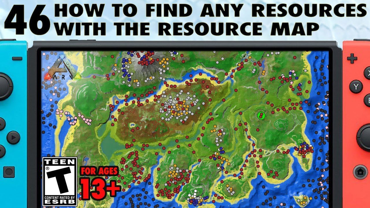 Ark Resource Map