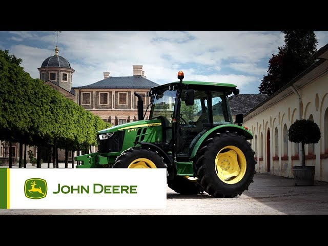 Le nouveau 5E John Deere – plus de performances, plus de confort