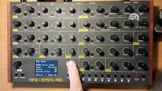 MFB SYNTH PRO VCO DEMO