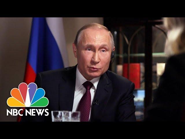 Confronting Russian President Vladimir Putin Part 4 Megyn Kelly Nbc News